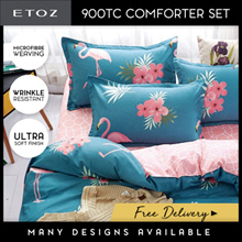 [ETOZ] NEW DESIGNS!! 950 Thread Count Silky Comforter Set★Different Design Available★