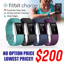 MAKE $180 [FITBIT] CHARGE 2 PurePulse Heart Rate / Multi-Sport Tracking Connected GPS / CALL