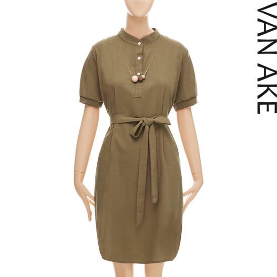 バンエイクヘンリネクベーシックワンピースV7F1OP4010 面ワンピース/ 韓国ファッション
