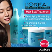 Loreal Hair Spa Creambath 1000ml / Repairing / Detoxifying / Nourishing Cream Bath