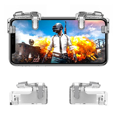 ▶$1 Shop Coupon◀ Mobile Game Controller【Upgraded Version】- PUBG/Knives Out  Mobile Controller, Hill