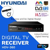 ★ BARU ★ SINGAPURA HDV-360 DVB-T2 DIGITAL TUNER / KONVERSI TV DIGITAL / DISETUJUI OLEH IMDA