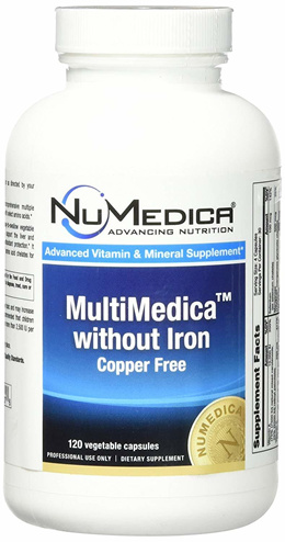 NuMedica - MultiMedica without Iron - 120 Vegetable Capsules