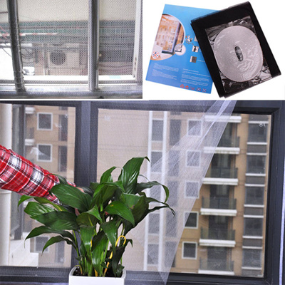 DIY Magnetic Mosquito Insect Screen Kit window netting mosquito net mesh  fly screen bug lizard cockroach anti dengue Insect Fly Bug Mosquito Door
