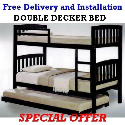 Qoo10 - Double Decker Bed : Furniture & Deco