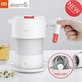 💖SG SELLER💖[Xiaomi Deerma 0.6L Folding Electric Water Kettle] Handheld Portable Water Flask Pot Au