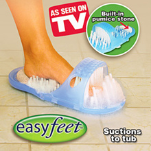 [CRAZY SALE]★AS SEEN ON TV★EASY FEET★Exfoliating&Massager Slippers in Bathroom★GDA- Healthy & Cleanning Slipper★FOOT★SCRUB★