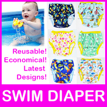 Clearance! Swim Diapers! Reusable/ Adjustable/ Waterproof/ Baby Toddler Swimming Pool/ Cloth Diaper