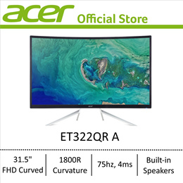 [NEW] Acer ET322QR A 31.5-Inch FHD CURVED MONITOR