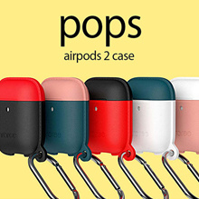 [araree] Airpods2 Pops Case / Hang Case / Carrying Clip Case / Mobile / Apple