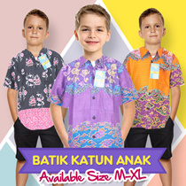 Batik Alhadi Hem Katun Anak Collections