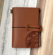 Starbucks STARBUCKS white card package passport wallet purse pu leather cup type mermaid tail card package ice