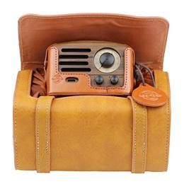 [Singapore Sole Distributor] Muzen Audio OTR Wood FM Retro Radio Bluetooth Portable Speaker