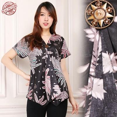 tops blouse sinta batik wanita