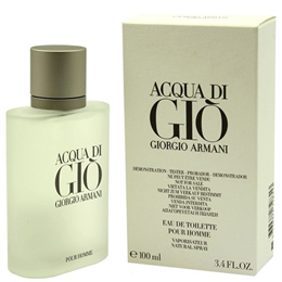 PERFUME GIORGIO ARMANI ACQUA DI GIO BRAND NEW TESTER WITH CAP MEN 100ML EDT SPRAY FRAGRANCE