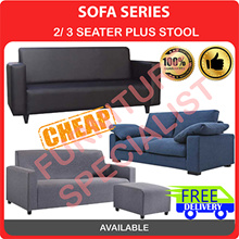 [Furniture Specialist] Sofa Series 3 Seater Option  + Stool / 3 Seater / 2 Seater Sofa