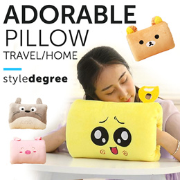❤ ADORABLE COMFY PILLOW ❤ Travel Office School or Home! U pillow supportive design SALE!