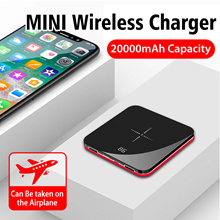 Ultra-thin new mini mobile phone charger kit wireless charging power source