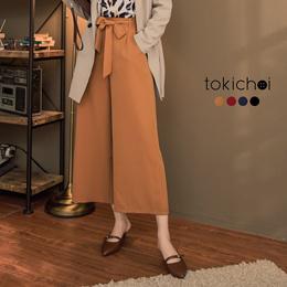 TOKICHOI - Tie Front Culottes-172726-Winter