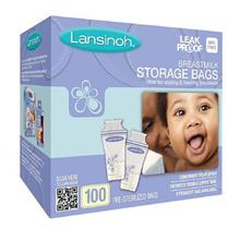 Lansinoh BPA-Free Breastmilk Storage Bags / Disposable Nursing Pads / Gel Pads