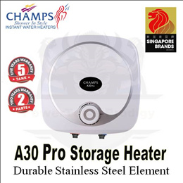 Champs A-Series A15 PRO / A30 PRO STORAGE WATER HEATER / 15 LITRES / 30 LITRES / ELECTRIC HEATER