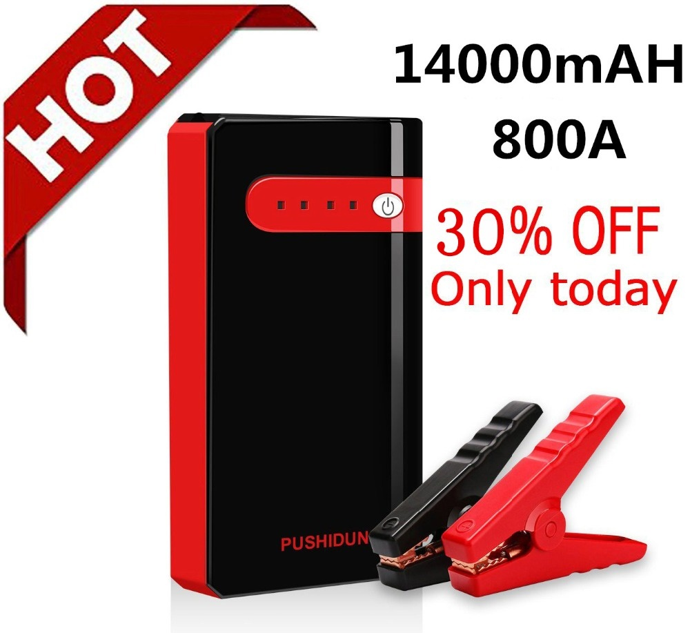 Qoo10 Jump Starter 12v 14000mah Car Rover Battery Booster Pack Battery Charg Mobile Accessori