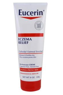 Eucerin Eczema Relief Body Cream Eczema-Prone Skin Fragrance Free 8.0 oz (226 g)