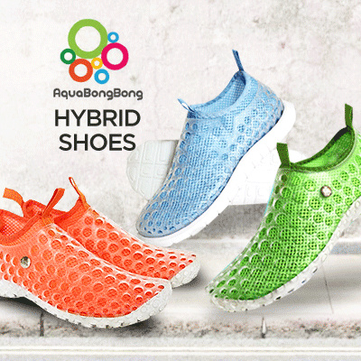 Best seller Aqua Bong Bong Shoes and Abong Hybrid Shoes-Comfortable shoes- Deals for only Rp39.000 instead of Rp39.000