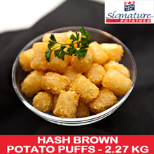 [YORK SIGNATURE] Hash Brown Potato Puffs 2.27kg. Approx 226 pcs