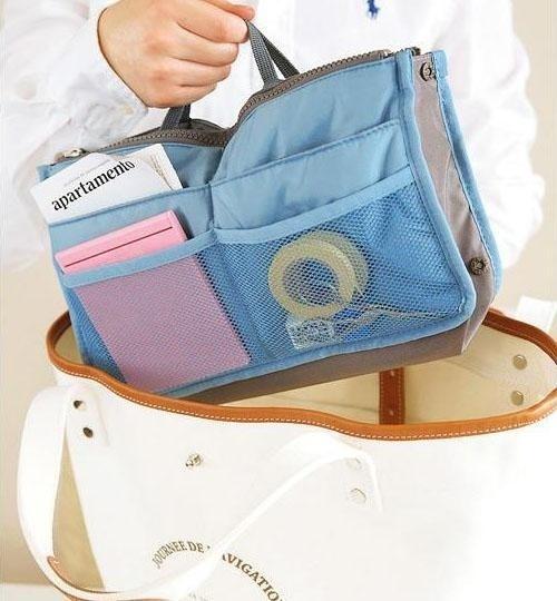 [1 Kg Muat 6] Import Korean Bag In Bag Organizer Deals for only Rp55.000 instead of Rp55.000