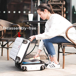 Latest Transparent PVC Luggage Cover with Zip Protector Case Travel Luggage Suitcase Protective