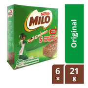Milo Snack Bars - Original 6 pcs x 21g