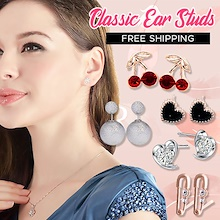 Classic Ear Stud /  Korean Style Earring / Earrings / 925 Silver / Ear Pin / Fashion Jewelry