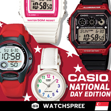 CASIO Unisex Watches National Day SALE. Free Shipping and Warranty!