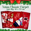 [ SEASON CHRISTMAS ] Classic Carpets Xmas  Keset Anti Slip 40 x 70 cm