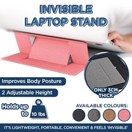 2019 Invisible Laptop Stand★MOFT★Adhesive Foldable★Portable Tablet Holder Folding Adjustable Bracket