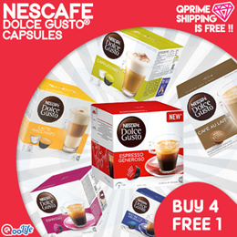 【DOLCE GUSTO®】NDG | Capsules Bundle【BUY 4 FREE 1】FREE Qprime Shipping!