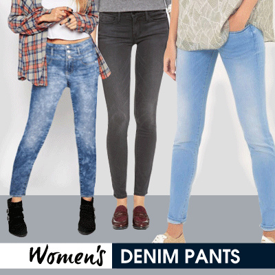 New! Collection Women Denim Skinny Jeans Deals for only Rp69.000 instead of Rp69.000