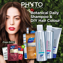 ANY 3 FOR $39 — Select Your Favourite Phyto Shampoo and Hair Colour ( FREE GIFT INCLUDED )