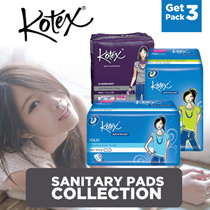 Kotex Value Package Maxi/Slim Wing/Non Wing