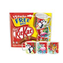 Nestle KITKAT 2F Sharebag (15s x 17g) Free CNY Edition Mug