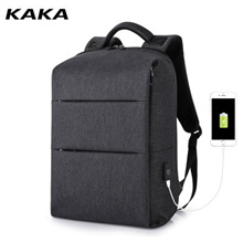 KAKA shoulder bag / male casual business bag / high-capacity computer multi-function anti-theft bag / student travel trip backpack