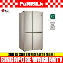 LG GS-B6267GV Side by Side Refrigerator (626L) - Singapore Warranty