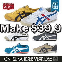 e268161606f007 ☆SUPER SALE☆ Onitsuka Tiger Mexico66 Simply Women Men Casual Sneakers  Comfort Shoes
