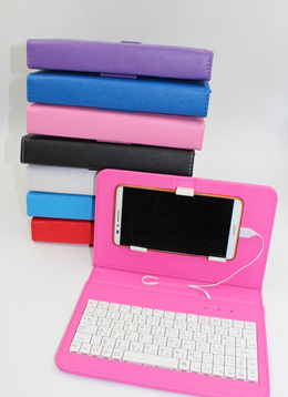 *INSTOCK*SMART PHONE LEATHER CASE WITH KEYBOARD CASE*Anroid Phone Cover with Keyboard*Ready Stock*Samsung*HTC*XiaoMi*