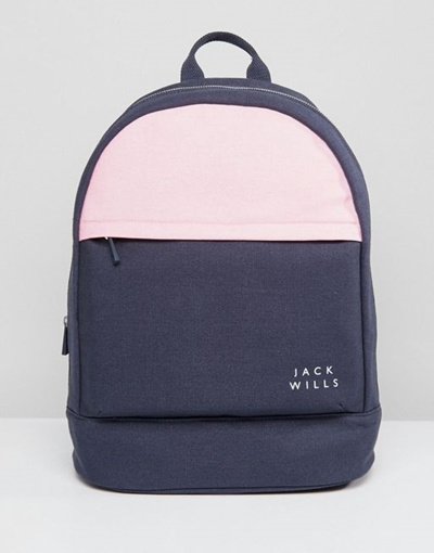 c36d4ec6f8 Qoo10 Jack Wills Classic Backpack Bag Wallet