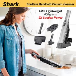 *No.1 Brand in USA*  Shark WANDVAC™ Cordless Handheld Vacuum Cleaner (WV203) Lightweight / Powerful