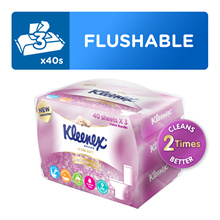 [Kleenex] Ultra Soft Moist Toilet Tissue 3x40sheet