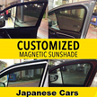 Customized Magnetic Sunshade-JAPANESE CARS-HONDA/TOYOTA/NISSAN//SUBARU/MITSUBISHI//SUZUKI