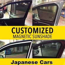 Customized Magnetic Sunshade-JAPANESE CARS-HONDA/TOYOTA/NISSAN//SUBARU/MITSUBISHI//SUZUKI